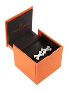 Simon Carter Cross Bones Cufflink