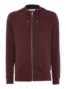 Original Penguin Mouline Loop-Back Hooded Sweatshirt