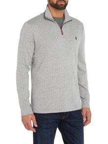 Polo Ralph Lauren Half zip herringbone sweat