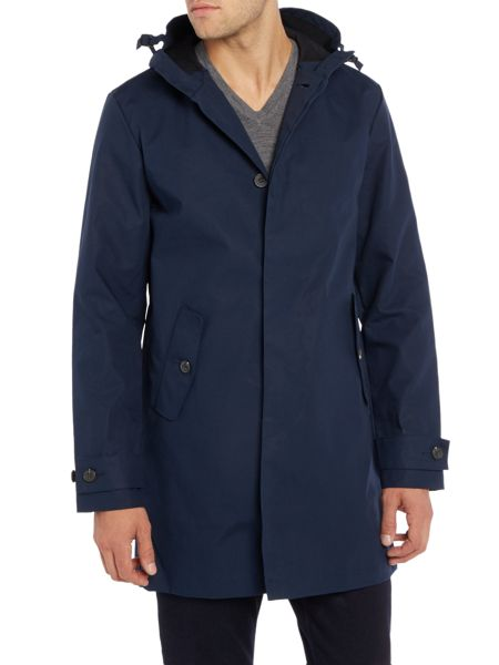 Lyle and Scott Hooded Trench Coat