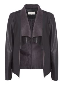 Maison De Nimes Waterfall Faux Leather Jacket