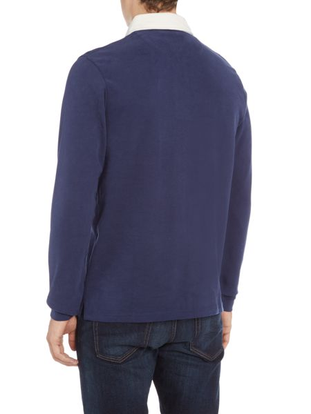 Lyle and Scott Long Sleeve Rugby Polo Shirt