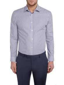 Howick Tailored Briar Stripe Shirt