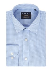 Howick Tailored Parkway Textured Check Shirt