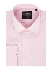Howick Tailored Baston Dobby Spot Shirt