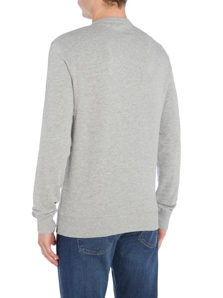 Original Penguin Embroidered-Logo Crew-Neck Sweatshirt