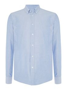 Soulland Goldsmith long-sleeve chambray shirt