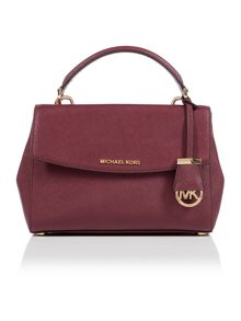 Michael Kors Ava purple small satchel bag