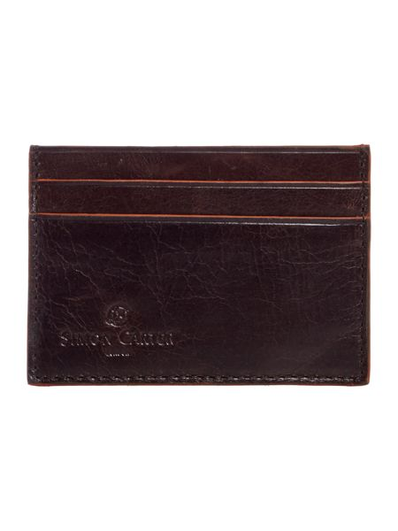 Simon Carter Cinnamon Edge Card Holder