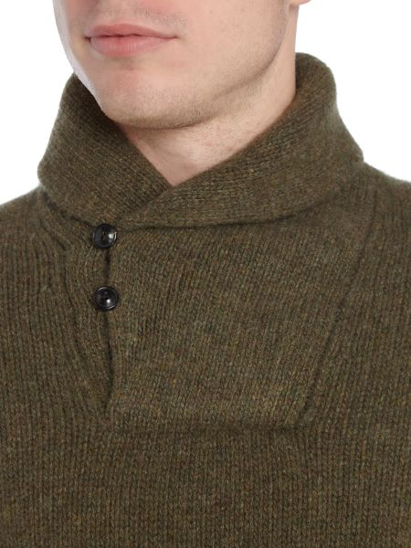 Polo Ralph Lauren Long sleeve shawl neck sweater