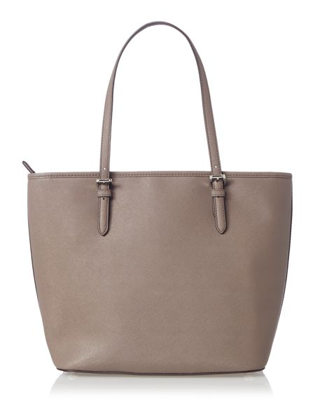 Michael Kors Jetset item taupe large pocket tote bag
