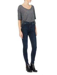 Label Lab Thorn high waisted indigo skinny jean