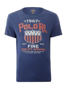 Polo Ralph Lauren Vintage shield print crew neck