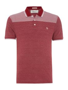 Original Penguin Jacquard Short-Sleeve Polo Shirt