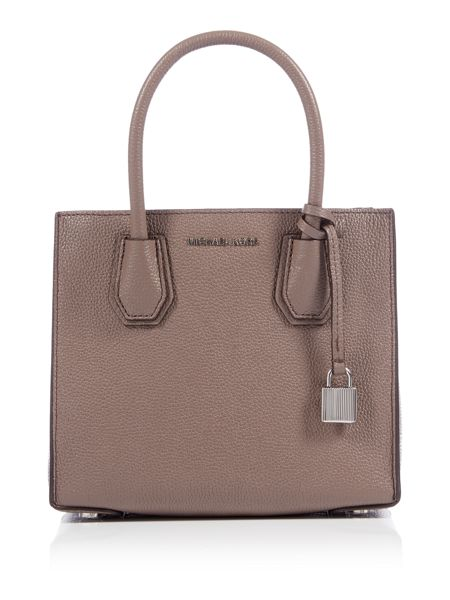 Michael Kors Mercer taupe medium tote bag