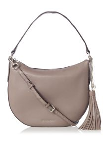 Michael Kors Brooklyn taupe medium hobo bag