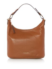 Michael Kors Lupita tan large hobo bag