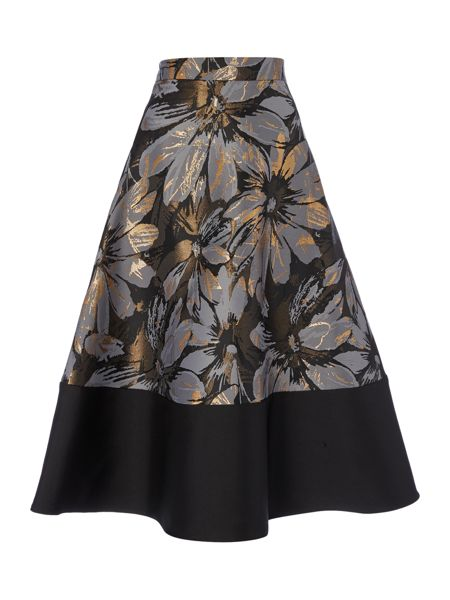 Linea Jacquard full skirt