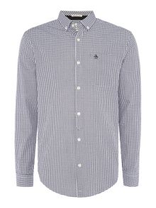 Original Penguin Cotton Gingham Long-Sleeve Shirt