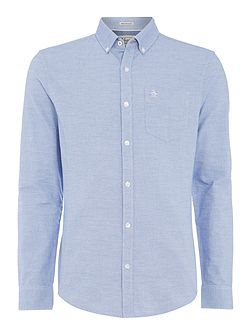 Cotton Oxford Long-Sleeve Shirt