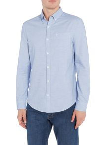 Original Penguin Cotton Oxford Long-Sleeve Shirt