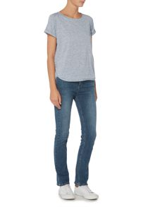 Maison De Nimes Denim Wash Tee