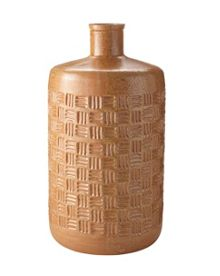 Linea Colgne embossed bottle vase