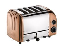 Dualit 4 Slot Classic Toaster, Copper