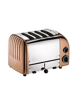 4 Slot Classic Toaster, Copper