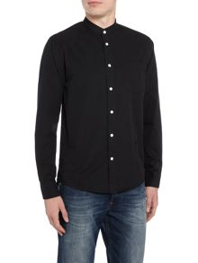 Soulland Helgeson grandad collar long-sleeve shirt