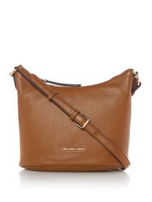 Michael Kors Brooklyn tan medium hobo bag