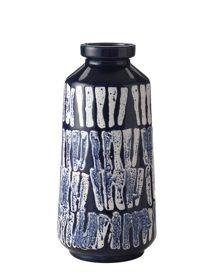 Linea Newquay blue marking bottle vase