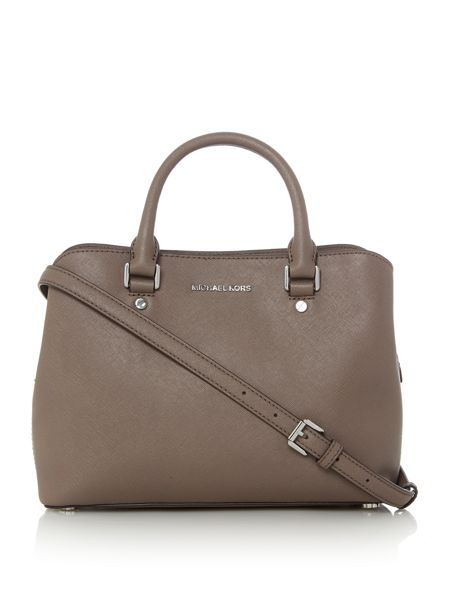 Michael Kors Savannah taupe medium tote bag