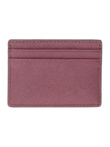 Michael Kors  Jetset travel purple card holder