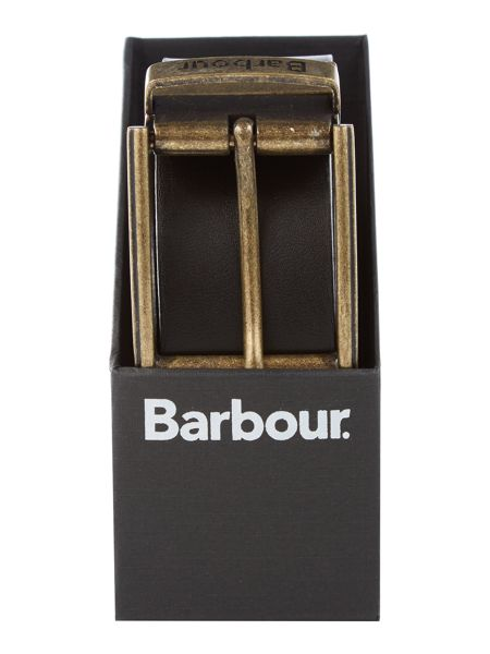 Barbour Reversible Leather Gift Boxed Belt
