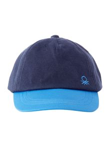 Benetton Boy`s Small Logo Cap Hat