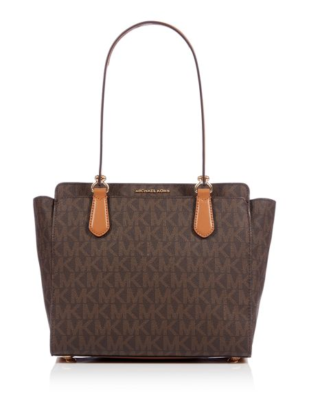 Michael Kors Tammy brown medium tote bag