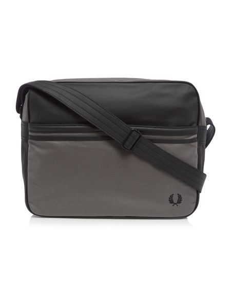 Fred Perry Coated Canvas Shoulder Bag