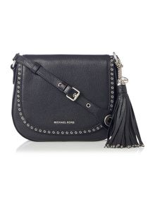 Michael Kors Brooklyn black cross body bag