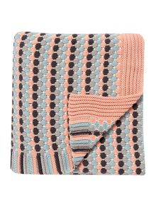 Dickins & Jones Lottie knit throw