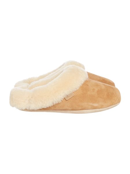 Just Sheepskin New princess swept back mule slipper