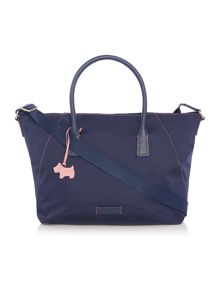 Radley Dapple dog navy large crossbody bag