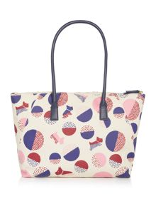 Radley Dapple dog multicolour large tote bag