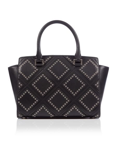 Michael Kors Selma black medium tote bag