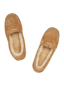 Just Sheepskin New hampstead moccasin slipper