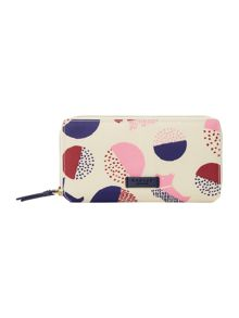 Radley Dapple dog multicolour large ziparound purse