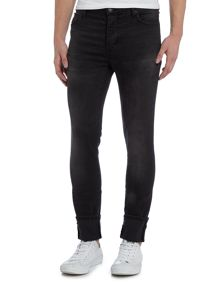 Neuw Hell sixteen skinny fit grey wash jeans