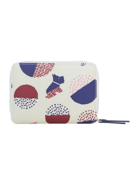 Radley Dapple dog multicolour ziparound purse