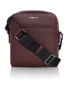 Michael Kors Harrison crossgrain small crossbody bag
