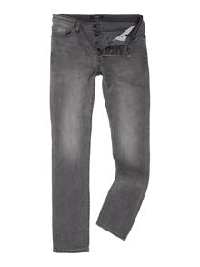 Soulland Iggy kilbride skinny fit light grey jeans